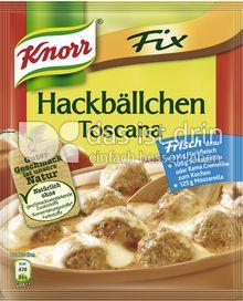 Produktabbildung: Knorr Fix Hackbällchen Toscana 43 g