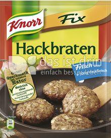 Produktabbildung: Knorr Fix Hackbraten 78 g
