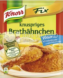 Produktabbildung: Knorr Fix knuspriges Brathähnchen 29 g