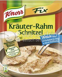 Produktabbildung: Knorr Fix Kräuter-Rahm Schnitzel 47 g