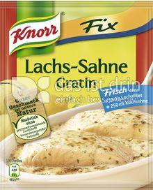 Produktabbildung: Knorr Fix Lachs-Sahne Gratin 28 g
