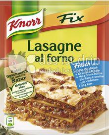 Produktabbildung: Knorr Fix Lasagne al Forno 49 g