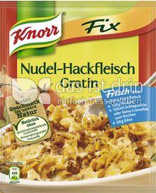 Produktabbildung: Knorr Fix Nudel-Hackfleisch Gratin 36 g