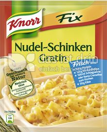 Produktabbildung: Knorr Fix Nudel-Schinken Gratin 28 g