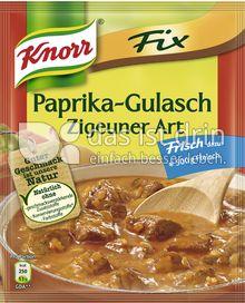 Produktabbildung: Knorr Fix Paprika-Gulasch Zigeuner Art 52 g