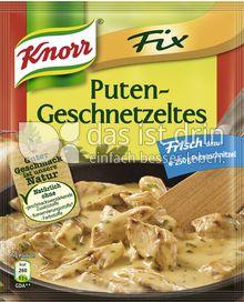 Produktabbildung: Knorr Fix Puten-Geschnetzeltes 36 g