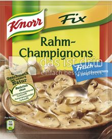 Produktabbildung: Knorr Fix Rahm-Champignons 33 g