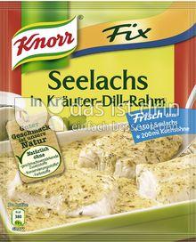 Produktabbildung: Knorr Fix Seelachs in Kräuter-Dill-Rahm 30 g