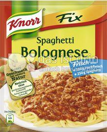 Produktabbildung: Knorr Fix Spaghetti Bolognese 42 g