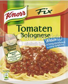 Produktabbildung: Knorr Fix Tomaten Bolognese 47 g
