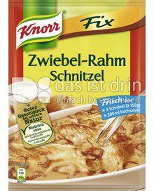 Produktabbildung: Knorr Fix Zwiebel-Rahm Schnitzel 46 g