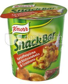 Produktabbildung: Knorr Snack Bar Kartoffelpüree mit Röstzwiebeln & Croûtons 53 g