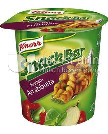 Produktabbildung: Knorr Snack Bar Nudeln Arrabbiata 67 g