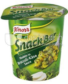 Produktabbildung: Knorr Snack Bar Nudeln in Broccoli-Käse-Sauce 70 g