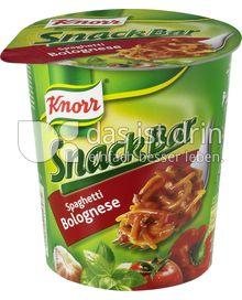 Produktabbildung: Knorr Snack Bar Spaghetti Bolognese 69 g