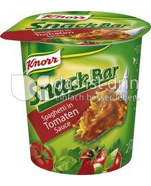 Produktabbildung: Knorr Snack Bar Spaghetti in Tomaten-Sauce 71 g
