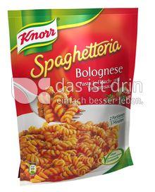 Produktabbildung: Knorr Spaghetteria Bolognese Pasta in Fleisch- und Tomatensauce 164 g