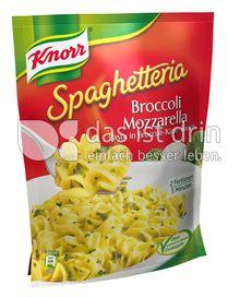 Produktabbildung: Knorr Spaghetteria Broccoli Mozzarella Pasta in Broccoli-Käse-Sauce 159 g