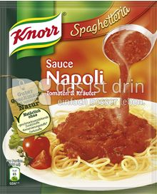 Produktabbildung: Knorr Spaghetteria Sauce Napoli 250 ml