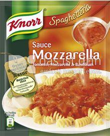 Produktabbildung: Knorr Spaghetteria Sauce Mozzarella 250 ml