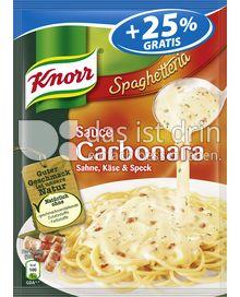 Produktabbildung: Knorr Spaghetteria Sauce Carbonara