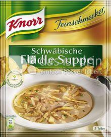 Produktabbildung: Knorr Feinschmecker Schwäbische Flädlesuppe 0,75 l