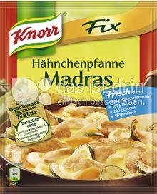 Produktabbildung: Knorr Fix Hähnchenpfanne Madras 40 g