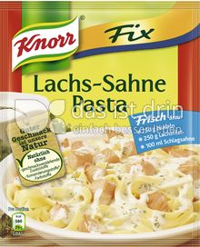 Produktabbildung: Knorr Fix Lachs-Sahne Pasta 35 g