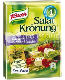 Produktabbildung: Knorr Salatkrönung Gartenkräuter mit Knoblauch 5 St.