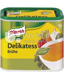 Produktabbildung: Knorr Delikatess Brühe 16 l