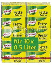 Produktabbildung: Knorr Fette Brühe 10 St.