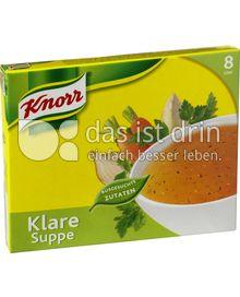 Produktabbildung: Knorr Klare Suppe mit Suppengrün 16 St.