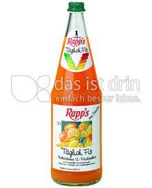 Produktabbildung: Rapp's Täglich Fit 1 l