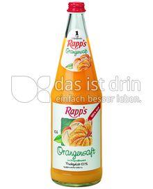 Produktabbildung: Rapp's Orangensaft 1 l