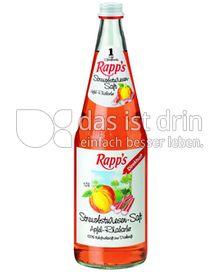 Produktabbildung: Rapp's Streuobstwiesen-Saft Apfel-Rhabarber 1 l