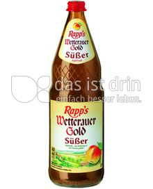 Produktabbildung: Rapp's Wetterau Gold Süßer 1 l