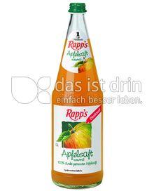Produktabbildung: Rapp's Apfelsaft naturtrüb 1 l
