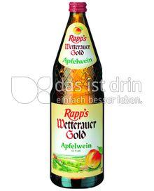 Produktabbildung: Rapp's Wetterauer Gold Apfelwein 1 l