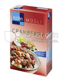 Produktabbildung: Kölln Müsli Cranberry 600 g