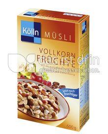Produktabbildung: Kölln Müsli Vollkorn Früchte 600 g