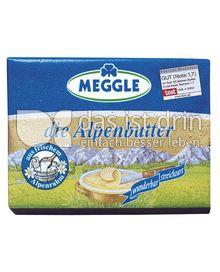 Produktabbildung: Meggle Die Alpenbutter 250 g