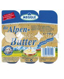 Produktabbildung: Meggle Die Alpenbutter 100 g