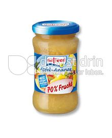 Produktabbildung: natreen Fruchtaufstrich Apfel-Ananas 225 g