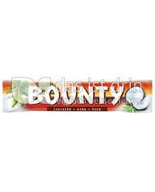 Produktabbildung: Bounty Zartherb - Dark - Puur 57 g