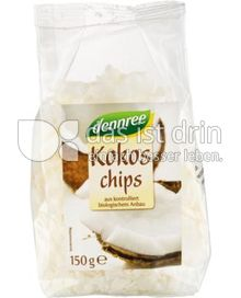 Produktabbildung: dennree Kokoschips 150 g