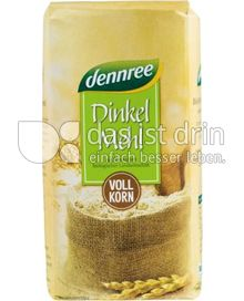 Produktabbildung: dennree Dinkelmehl Vollkorn 1 g