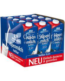 Produktabbildung: Weihenstephan Haltbare Alpenmilch 3,5% Fett 12 l