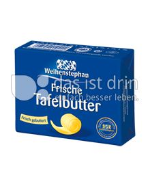 Produktabbildung: Weihenstephan Frische Tafelbutter 250 g