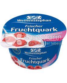 Produktabbildung: Weihenstephan Frischer Fruchtquark Himbeere 150 g