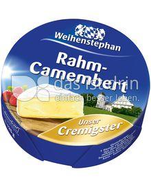 Produktabbildung: Weihenstephan Rahm-Camembert 125 g
